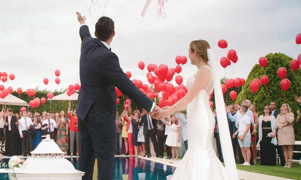 Canciones románticas en tu boda
